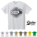 "【DEEDOPE】 ""PERFECTLY "" 半袖 プリント Tシャツ"