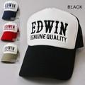 【EDWIN】エドウィン メッシュキャップ 帽子 刺繍
