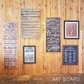 アートフレーム 【ART BOARD】アートボード レトロ カフェ風 個性派インテリアアイテム