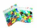 カラフルなプラスチックのおもちゃ【DIYブロック】