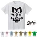 """【DEEDOPE】 """"MUSTACHE """" 半袖 プリント Tシャツ"""