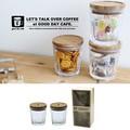 【即納可能】good day cafe ギフト ガラスキャニスター set2【定番】【行楽】