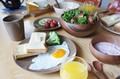 毎日の朝を一段と輝かせる器【アルブルマルシェ プレート22】 日本製