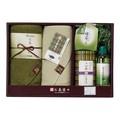 【バス雑貨】 【ギフト】ティーライフお茶染めタオルセット 【1500/3000ギフト】