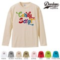 "【DEEDOPE】 ""CANDY "" ロンT 長袖 プリント Tシャツ"