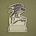 oblation papers&press 活版印刷ダイカットカード tokens ファルコン バースデー