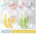 【北欧雑貨Lotta Jansdotter】ロッタ 北欧デザイングラスS(日本製)