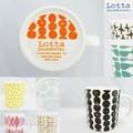 【北欧雑貨Lotta Jansdotter】ロッタ 北欧デザインマグカップS&L(日本製)