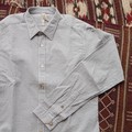 DiscriminationLess 変わり織りスリムフィットシャツ