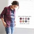 ◆[綿100%]MLサイズ。チェックシャツ/ネルシャツ◆421246