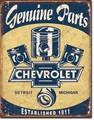 ブリキ看板 Chevy Parts #58293