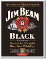 ブリキ看板 Jim Beam Black Label #58344
