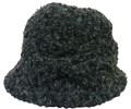 【秋冬帽子】ブークレリボンハット (2色ブラック、ブラウン)【秋冬セール】