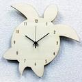 シルエットが可愛いハワイアン・アジアンテイストの掛け時計 Silhouette Clock(ホヌ・モンステラ)