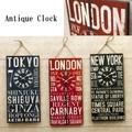 【壁掛時計】アンティーククロック[TOKYO/LONDON/NEW YORK]
