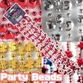【パーティー】パーティービーズ4Pset 4種 ディスプレイ 飾りつけ キラキラ