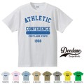 """【DEEDOPE】 """"CONFERENCE """" 半袖 プリント Tシャツ"""