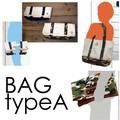 【新作】【ファッション アパレル】バッグtypeA 2種 迷彩 カモフラ ネイビー カバン ハンドバッグ