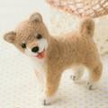 柴犬【フェルト羊毛】【手作りキット】【犬】