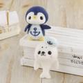マリンルックのペンギンとアザラシ【フェルト羊毛】【手作りキット】