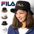☆値下げ 秋冬商品☆ FILA フィラ レオパード 切り換え バケットハット ヒョウ柄 帽子