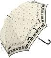 大人気猫柄★【鍵盤CAT】婦人★60cmグラスファイバー仕様ジャンプ傘★♪