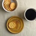 深山(miyama.) bico-ビコ- 12cmミニプレート(兼ソーサー) カラメルブラウン[日本製/美濃焼/洋食器]