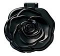 ヤマムラ ロマンチックローズ コンパクトミラー ブラック