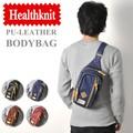HEALTHKNIT ヘルスニット PUレザー ボディーバッグ ウエストバッグ BODY BAG