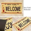 【玄関マット】コイヤーマット[New York Welcome:レクト7443]<アメ雑>