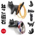 【おしゃれ 雑貨】ねこ 磁石 黒猫 日本 マグネット フック お土産 インテリア かわいい