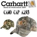 CARHARTT Camo Cap A293  14017