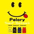 【当社生産 国内ライセンス】Pelory スウェット リュック バッグ デイパック スマイル ねこ