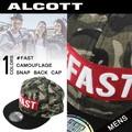 ◆2015秋冬新作小物◆【少量入荷】 ALCOTT アルコット  カモフラ柄 スナップバック キャップ<#FAST>