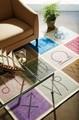 【SALE値下】【直送Ok】星座 ラグ・マット 12星座のおしゃれのデザインのゴブランシェニール 手洗いOK