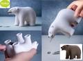 『Bear Tape Dispenser(ベアーテープディスペンサー)』クマだけどテープカッター&クリップホルダーです