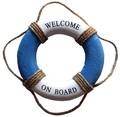 マリンスタイル 浮き輪 WELCOME ON BOARD 19cm