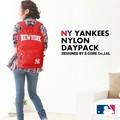 【当社生産 国内ライセンス】ヤンキース ナイロン リュック バッグ 鞄 カバン アウトドア 吸水速乾