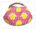 【セール】【在庫処分値下げ商品】インドアーリ刺繍カジュアルハンドバッグ ba1065a