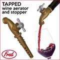 【アントレックス】ワインが蛇口から出てくるなんて夢のようだ♪【TAPPEDボトルストッパー】