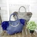 パールチャームとハラコ調フリルが華やかなサイドフリルトートバッグ【caritino -カリティノ-】