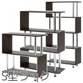 【売れ筋 インテリア 家具】S型ラック 3段 4段 5段 BR