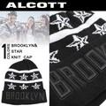 ALCOTT アルコット  ユニセックス ニット帽<BROOKLYN&STAR><ラスト1点>