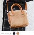 【SALE】◆フェイクファーミニボストンバッグ/鞄/雑貨◆421453
