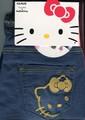 コラボ【キティ×Tuche】デニムレギンスパンツ2型