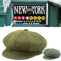 NEWYORK HAT #9245 ANTIQUE LEATHER SPITFIRE 14112