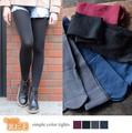 【SALE】◆[裏起毛]ベーシックカラータイツ/靴下/雑貨/小物◆420670