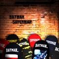 【当社生産 国内ライセンス】スーパーマン バットマン ナイロン リュック バッグ カバン 鞄