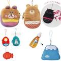 【携帯やバッグに付けれる♪】リップクリームホルダー マトリョーシカ&ネコ&かわいい動物