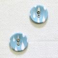 ボタン SOMETIMES - waterdrop【デコレクションズ オリジナル生地・布】【2個入り】